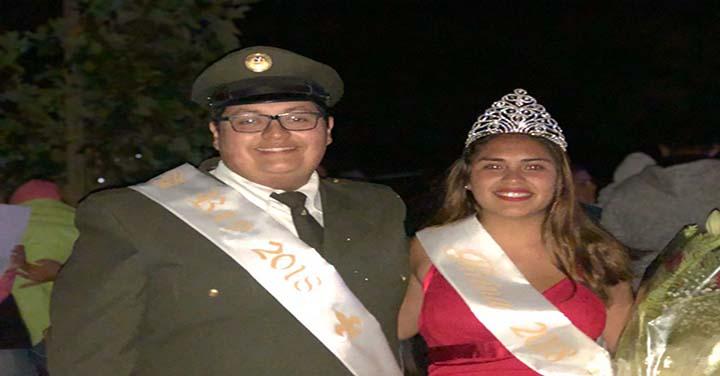 Reina de la Semana de Chanco pertenece al Cuerpo de Bomberos