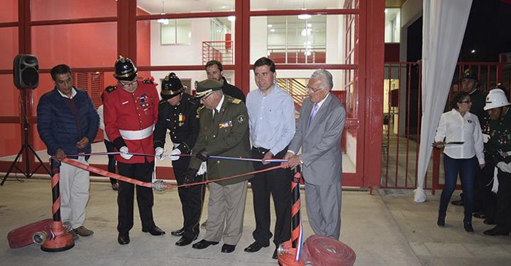 Nuevo cuartel de bomberos para la 5° Compañía de Buin