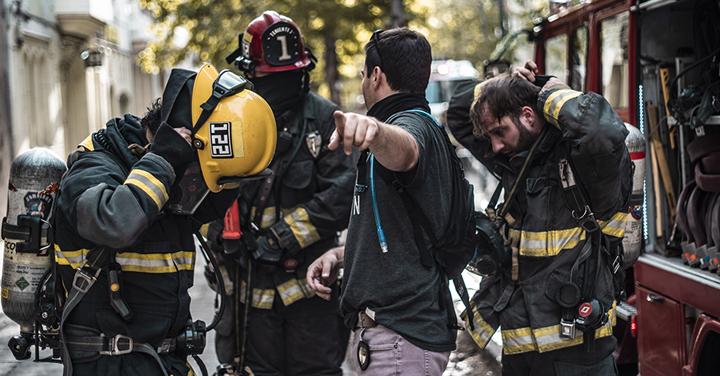 Comunicado de Bomberos de Chile sobre bombero de La Serena impactado por bomba lacrimógena