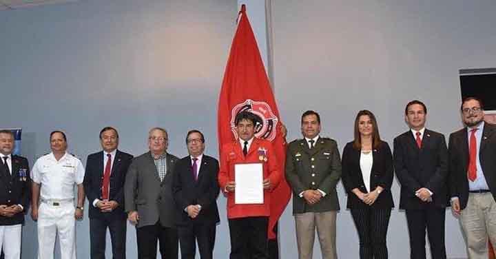 Primera Compañía de Bomberos de Arica celebró su centésimo séptimo aniversario