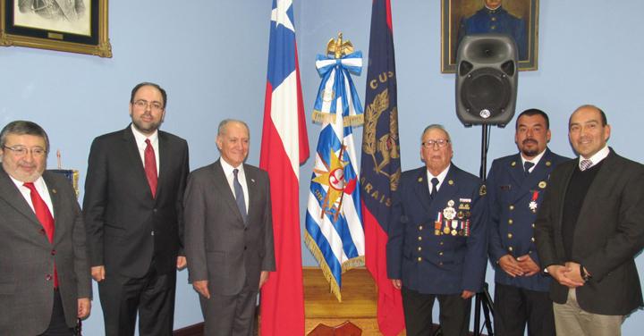 """9ª Compañía """"Zapadores Freire-Grecia"""" de Valparaíso firma acuerdo de vinculación"""