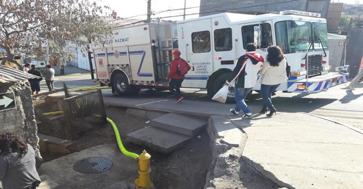 Bomberos controló incendio en sector centro-alto de Antofagasta
