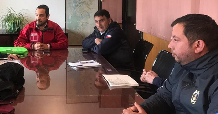 Alianza entre Bomberos de Coyhaique y el MOP impulsará construcción de cuarteles