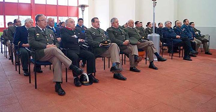 Cuenta pública en el Consejo Regional de Bomberos de Los Ríos