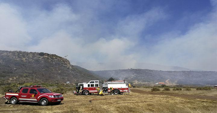Cuerpo de Bomberos de Los Vilos agradece apoyo tras Incendio en Pichidangui