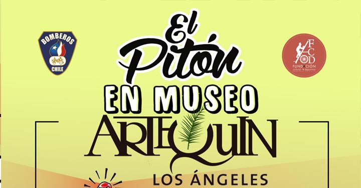 """Exposición """"Agua, Fuego y Buen Humor"""" en Museo Artequín de Los Ángeles"""