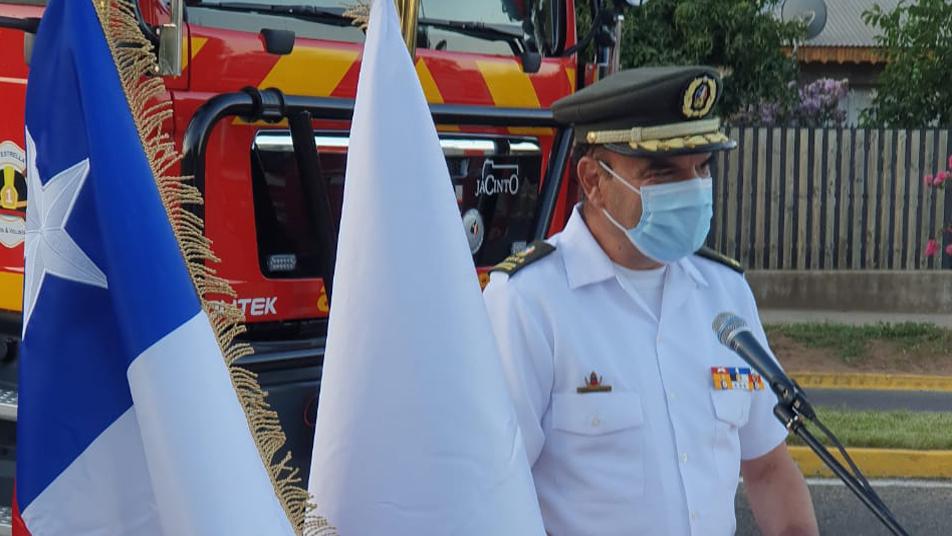 CB de La Estrella pone en servicio nueva unidad forestal