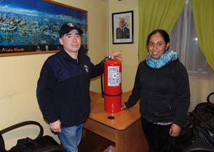Empresa regional realiza importante donación a brigadas de bomberos de Aysén