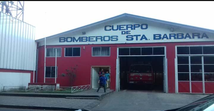 Condolencias al Cuerpo de Bomberos de Santa Bárbara