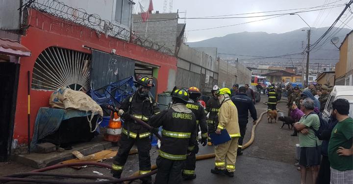 Bomberos de Antofagasta lamentan nuevas agresiones