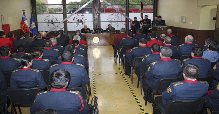 Quinta Compañía de Bomberos de Temuco celebró su aniversario 105