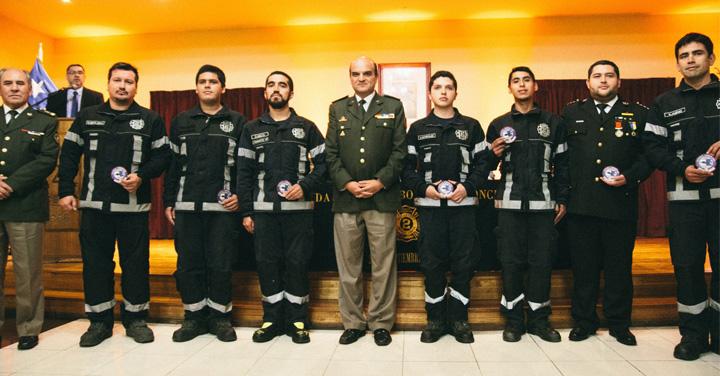 Segunda Compañía del Cuerpo de Bomberos de Concepción es acreditada como el primer Grupo GERSA a nivel nacional