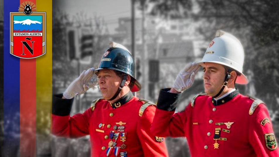 Así celebra sus 87 años de historia el Cuerpo de Bomberos de Ñuñoa