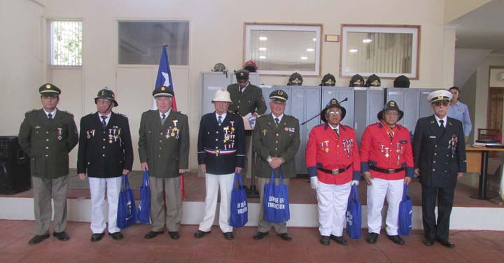 Consejo Regional de Bomberos de Los Ríos celebró Día de la Tradición