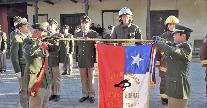 Cuerpo de Bomberos de Yerbas Buenas conmemoró 40 años de vida institucional