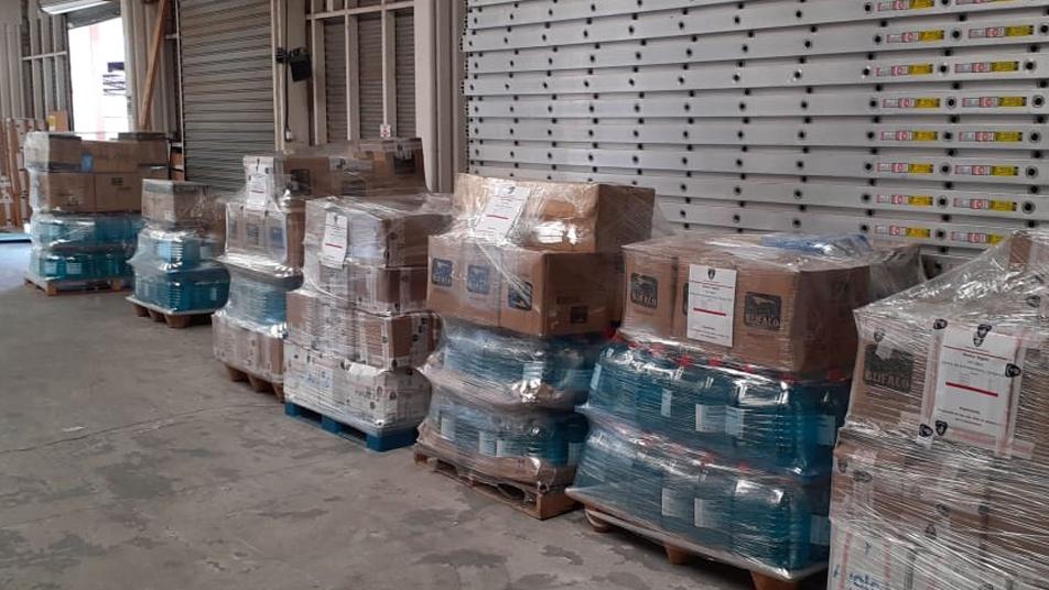 Kit para unidades HazMat de todo el país ya van rumbo a los consejos regionales