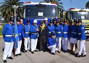 Nuevos carros bomba para las regiones de Atacama, del Maule y Metropolitana
