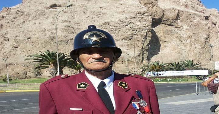 Pesar en el Cuerpo de Bomberos de Arica por fallecimiento de Director Honorario