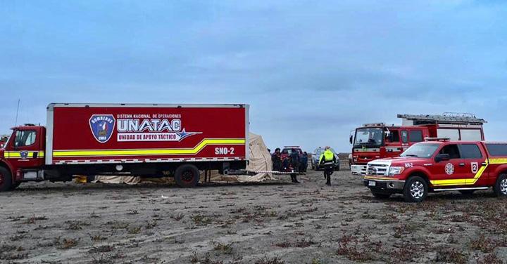 Equipos GERSA de Bomberos recuperaron a persona desaparecida en embalse Convento Viejo