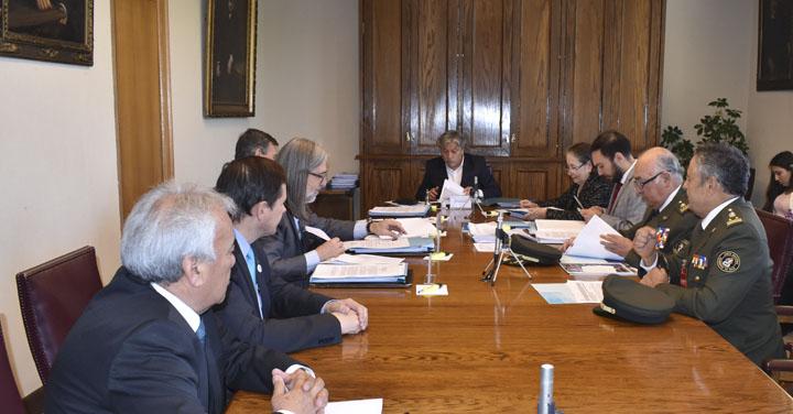 Bomberos de Chile participó en la Comisión de Transportes del Senado