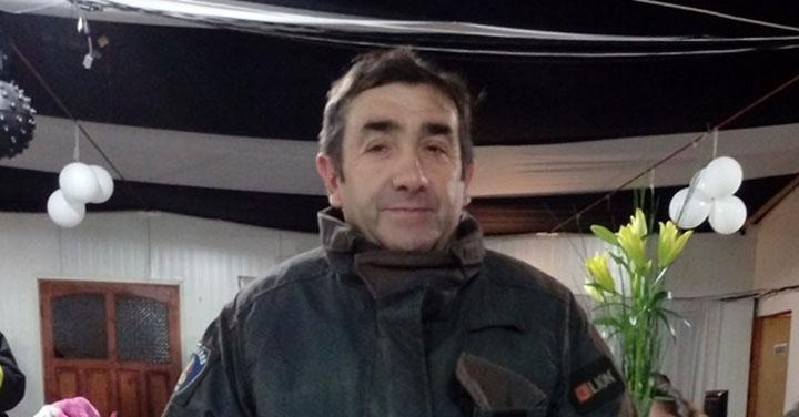 Voluntario del Cuerpo de Bomberos de Maule fue declarado Mártir Institucional