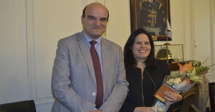 Directorio Nacional realizó homenaje a Presidenta de la Cámara y a ex Directores Nacionales