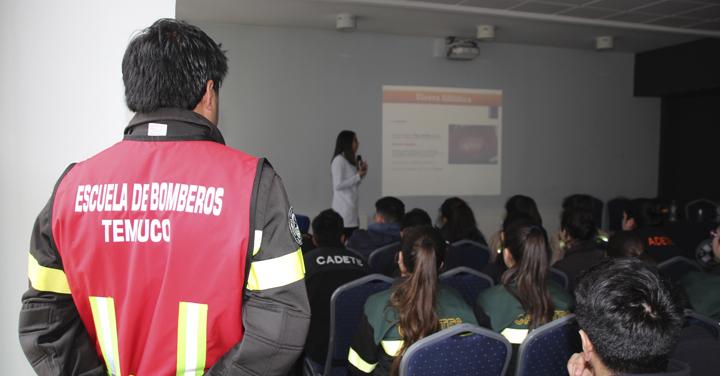 Cuerpo de Bomberos de Temuco invita a jornada de actualización sobre intervención inmediata en crisis
