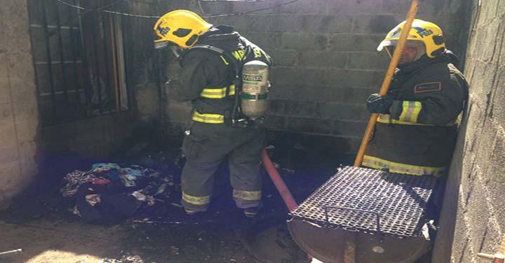 Bomberos de Pozo Almonte resultan afectados por robo mientras combatían incendio