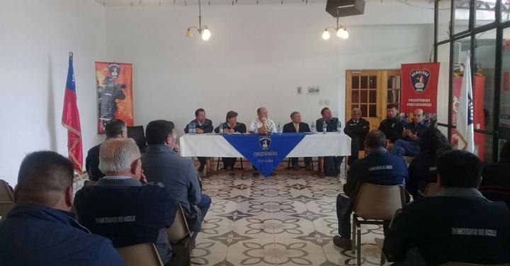 Consejo Regional de Bomberos del Maule realizó su tercera reunión del año 2017