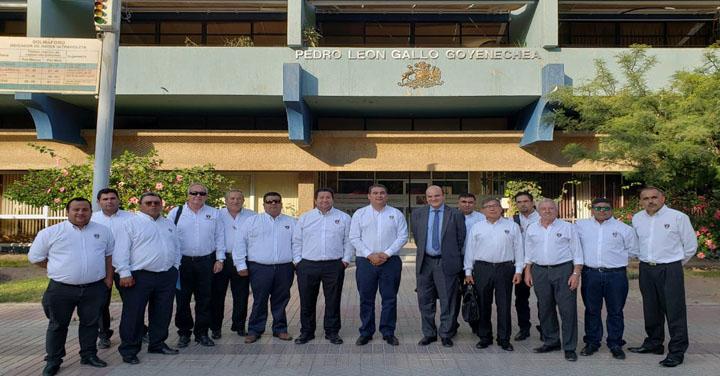 Presidente Nacional de Bomberos de Chile se reunió con el Intendente de Atacama