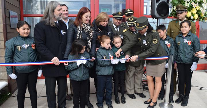 Bomberos de Chile inauguró nuevos cuarteles en O'Higgins y Maule