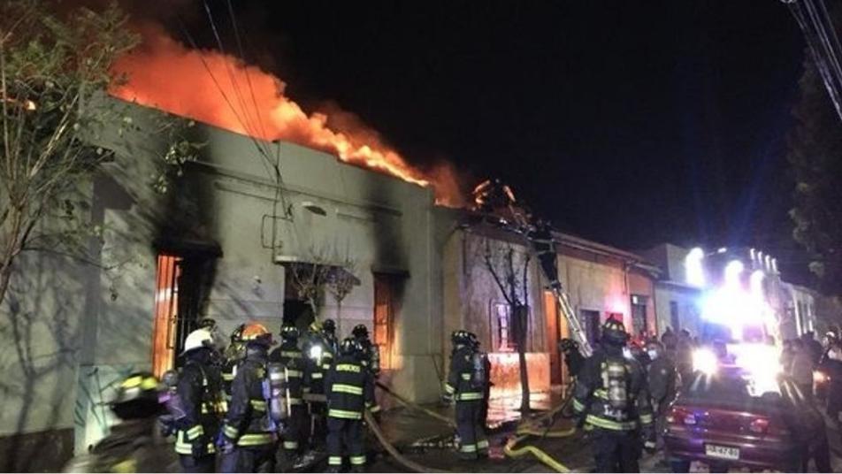 Incendio en hogar de San Felipe dejó 6 fallecidos