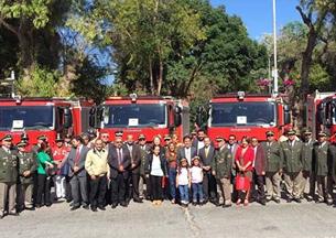 Bomberos de la Región de Atacama recibieron 10 nuevos carros
