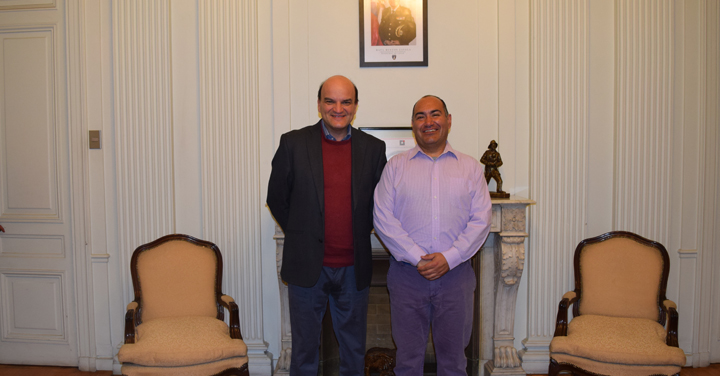 CONBECH se reunió con el Presidente Nacional de Bomberos de Chile