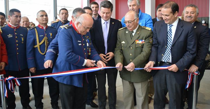 Nueva infraestructura para la 6ta Compañía del Cuerpo de Bomberos de Concepción