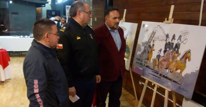Exposición Agua, Fuego y Buen Humor llega a la Región de Ñuble