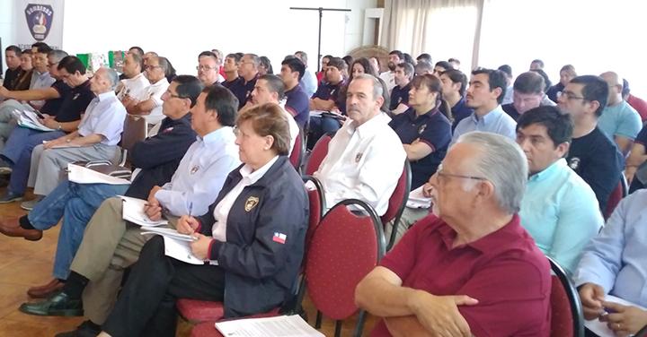 Asesor Jurídico realizó charla a Bomberos de la Región del Maule