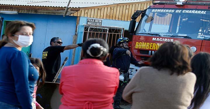 Fiscalía donó 17 millones de pesos al Cuerpo de Bomberos de Chañaral