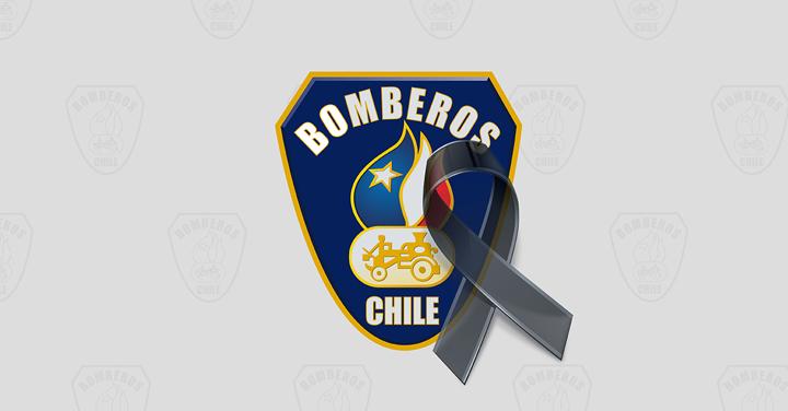 Bomberos de Chile decreta Duelo Institucional por fallecimiento de Manuel Muñoz Bastías