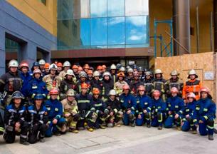 70 brigadieres de Bomberos de todo Chile se reúnen en campamento de verano