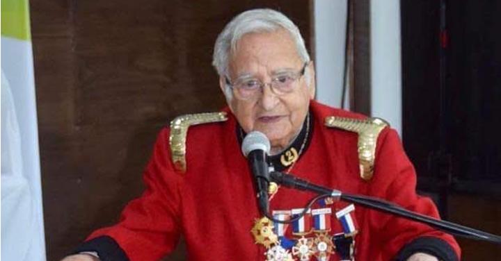 Fallece fundador y Superintendente Honorario del Cuerpo de Bomberos de Peñaflor