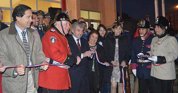 Inauguran Cuartel General del Cuerpo de Bomberos de Cañete