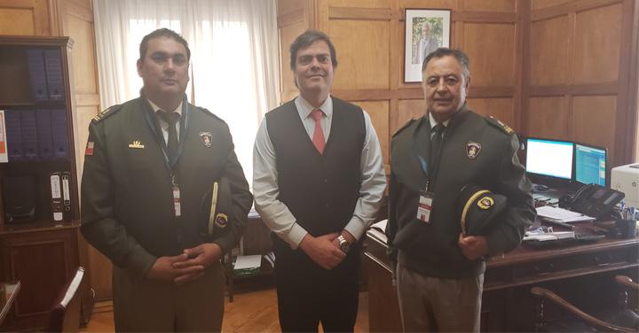 Bomberos de Chile siguen avanzando con la Subsecretaría del Interior en temas presupuestarios