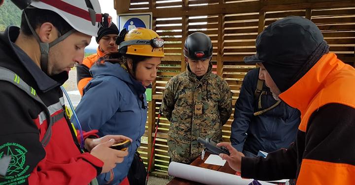Cuerpo de Bomberos de Puerto Aysén organizó curso de Rescate Agreste