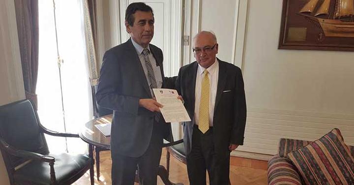 Bomberos de Chile y CONAF firman Protocolo de Acción Conjunta