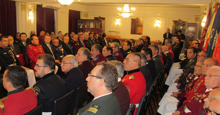 Cuerpo de Bomberos de Valparaíso realizó Sesión Solemne por 168° aniversario de su fundación
