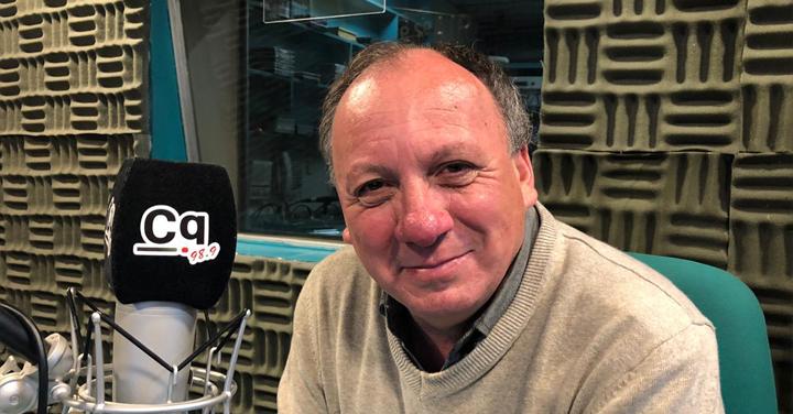 Presidente de Bomberos de Biobío Dino Olivieri en entrevista con Radio CQ