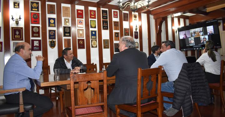 Presidente Nacional de Bomberos sostuvo reunión con líderes USAR de Bomberos del país