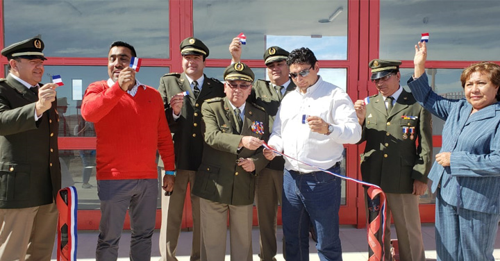 Voluntarios de Pozo Almonte y Huara cuentan con nuevo cuartel