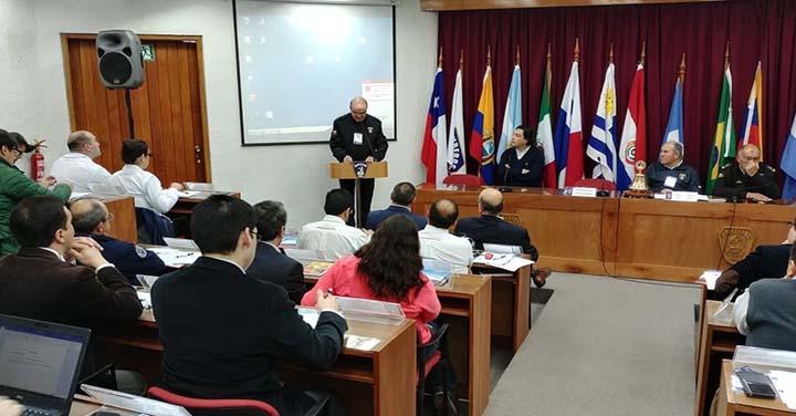 Jornada de Abogados de Bomberos de Chile en el Centro de Entrenamiento de la ANB
